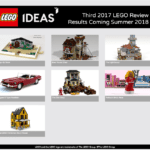Third 2017 LEGO Ideas Review Stage finalists revealed