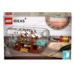 LEGO Ideas Ship in a Bottle set revealed with official promo images