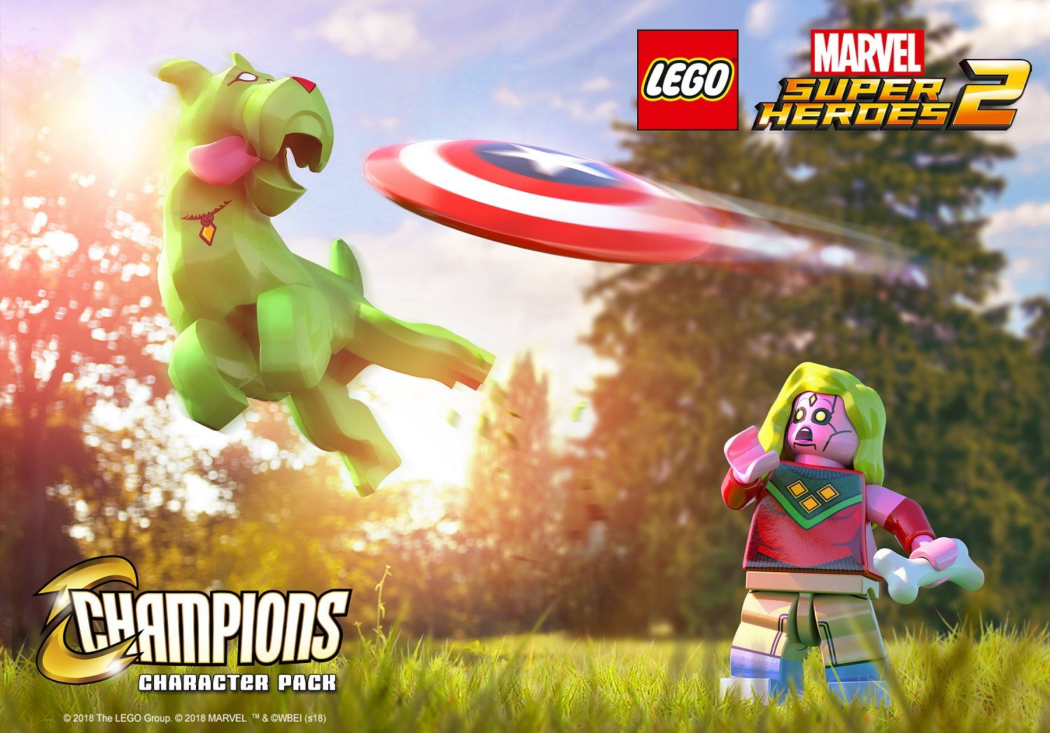 Champions character pack revealed for LEGO Marvel Super ...