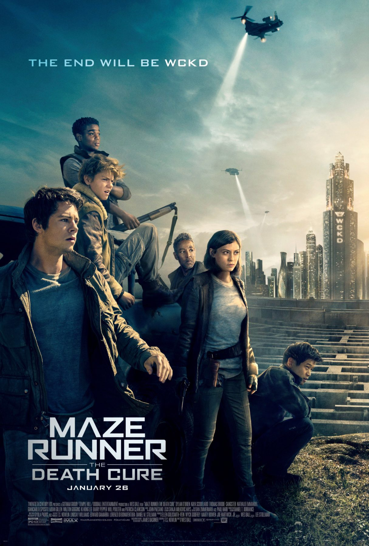 Maze Runner The Death Cure gets two new posters