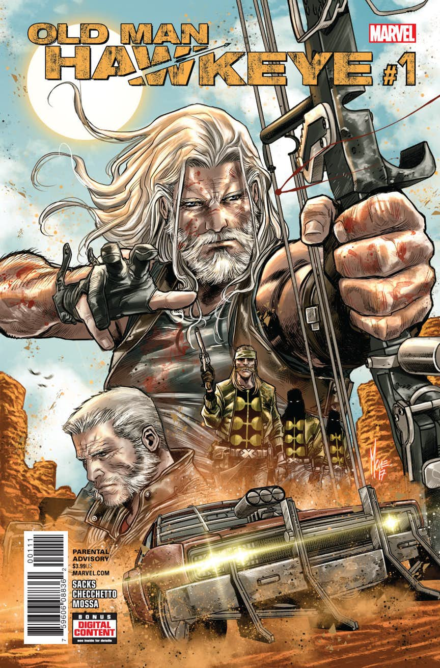 Preview of Old Man Hawkeye #1