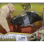 Rampage tie-in toys feature George, Ralph and Lizzie