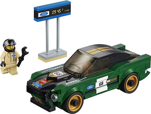 lego 39 s 2018 speed champions sets unveiled. Black Bedroom Furniture Sets. Home Design Ideas