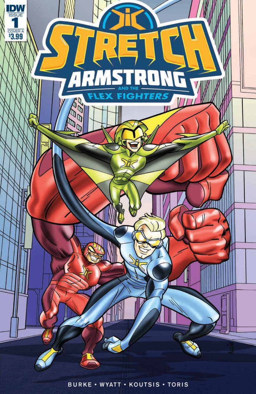 Preview of Stretch Armstrong and the Flex Fighters #1