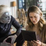 Brainiac-5 and Saturn Girl featured in promo images for Supergirl Season 3 Episode 10 – 'Legion of Superheroes'