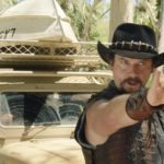 Dundee promo spoofs the Crocodile Dundee water buffalo scene as Hugh Jackman joins in the fun