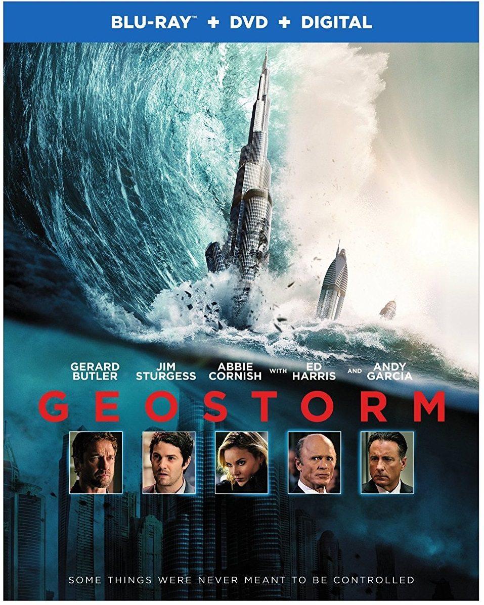 Blu Ray Review Geostorm 2017