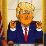 Showtime releases trailer for animated comedy series Our Cartoon President