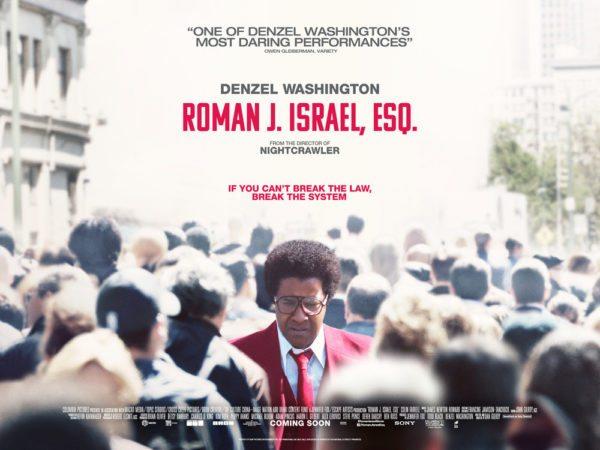 The Movie Roman J Israel >> New UK poster for Roman J. Israel, Esq.
