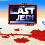 Luke Skywalker and Kylo Ren battle it out in 16-Bit