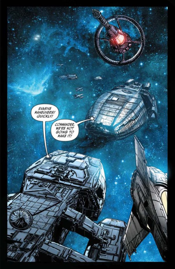 Preview of Battlestar Galactica vs Battlestar Galactica #2