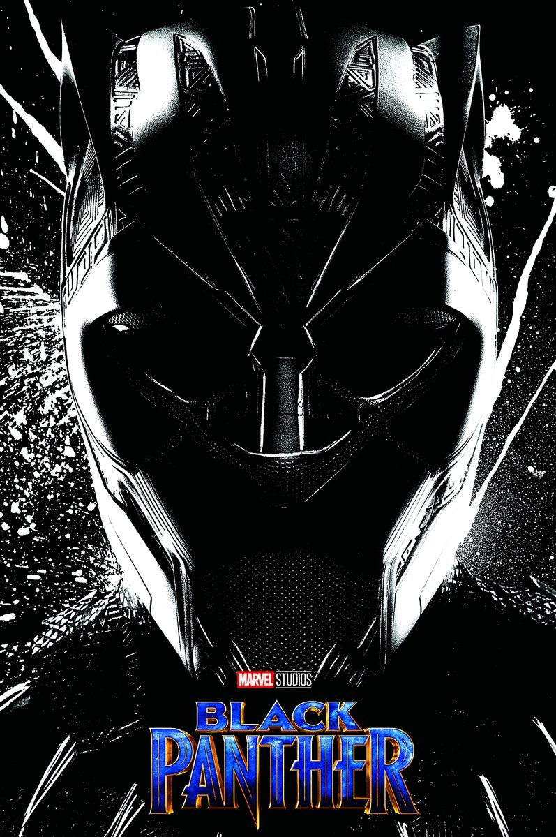 Marvels black panther gets a new imax poster video interviews and tv spot
