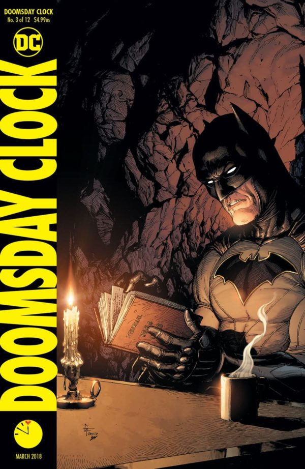 doomsday clock and the legend of korra top bestselling comic books
