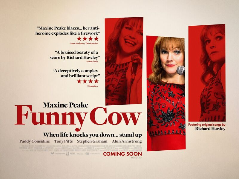 Poster and trailer for Funny Cow starring Maxine Peake