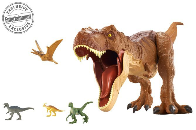 Mattels Jurassic World Fallen Kingdom action figures and