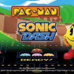 Video game icons Pac-Man and Sonic cross over for the first time on mobile devices