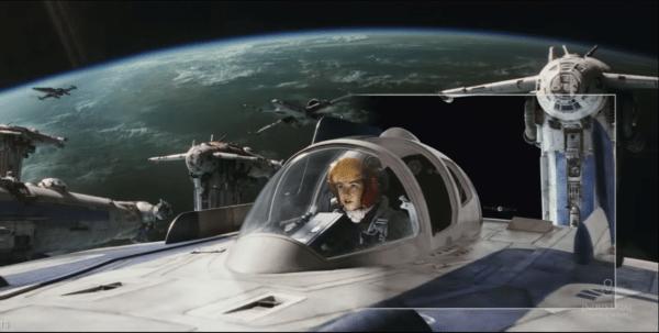 Go Behind the Magic of Star Wars: The Last Jedi's bombing run