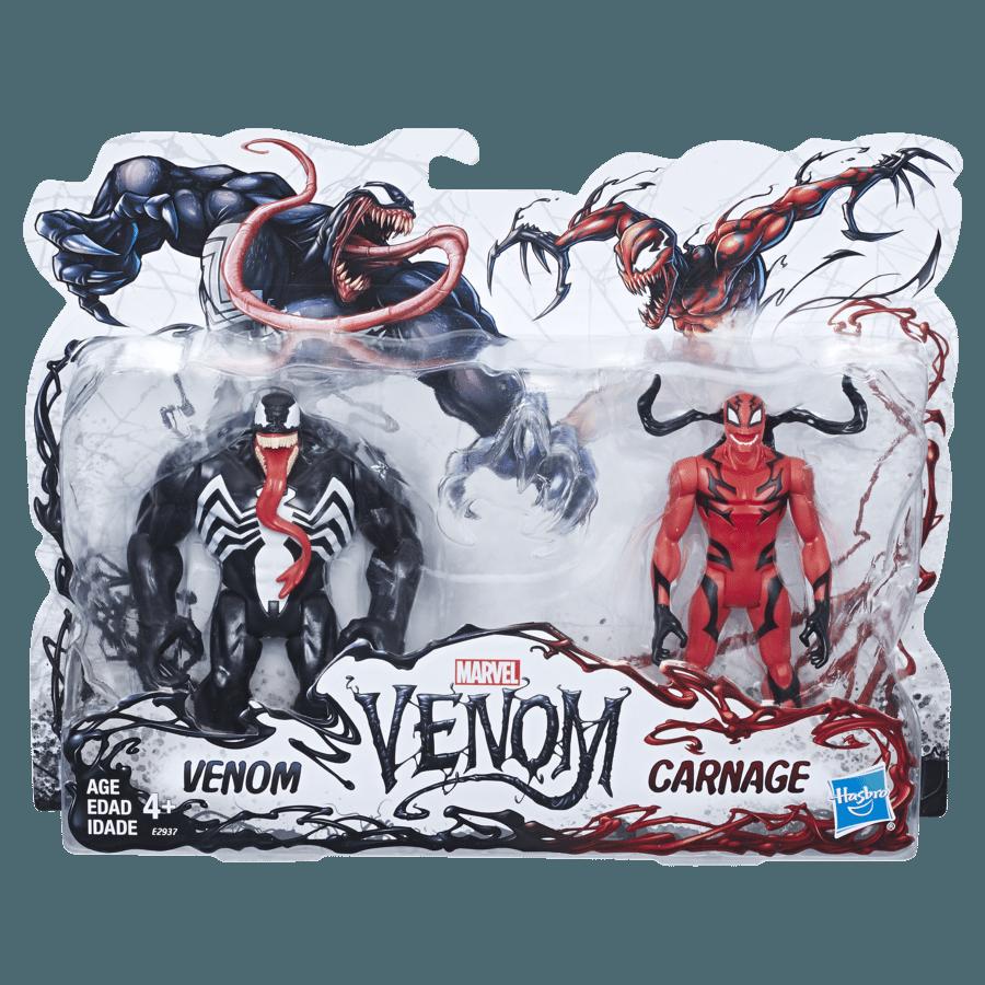 Venom Game Toy : Hasbro unveils new marvel legends venom and carnage figures