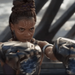 Shuri dons her own Black Panther costume in unused concept art from the Marvel blockbuster