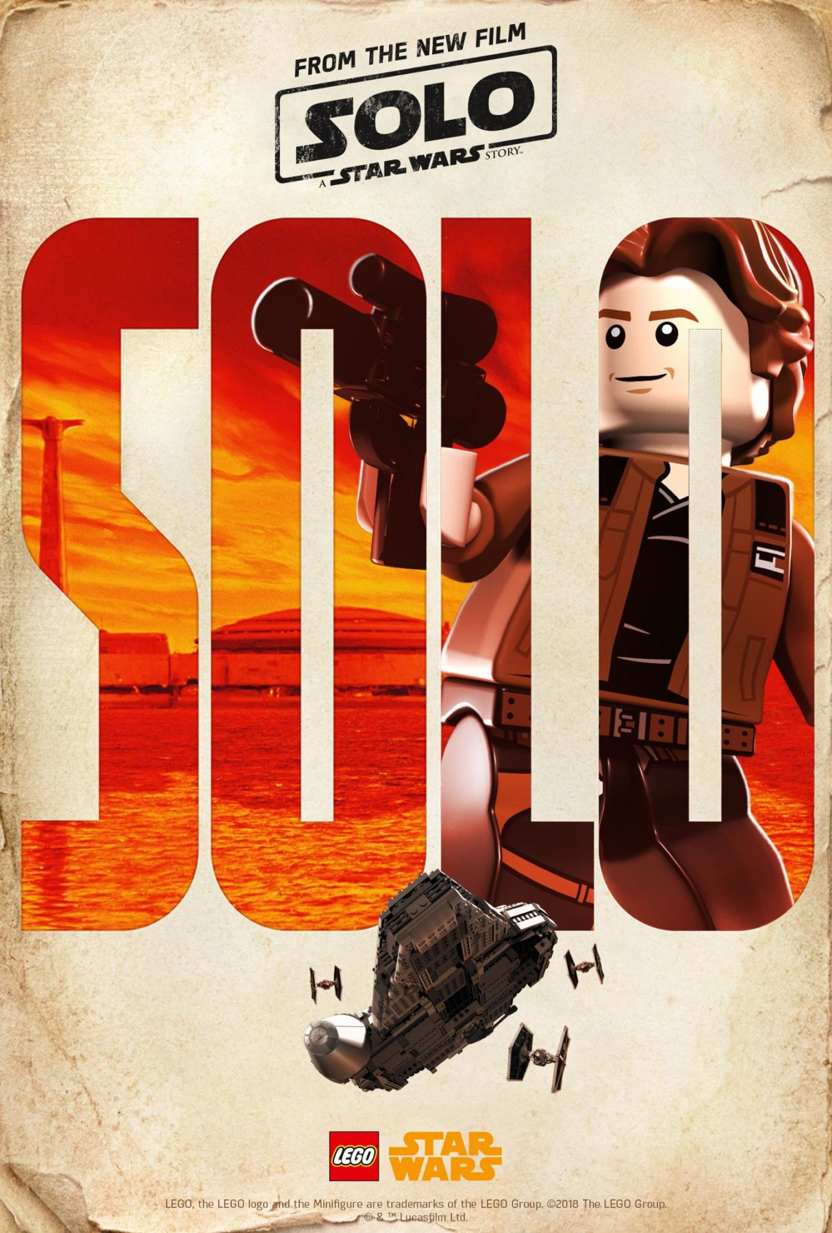 Solo A Star Wars Story Character Posters Get A Lego Makeover