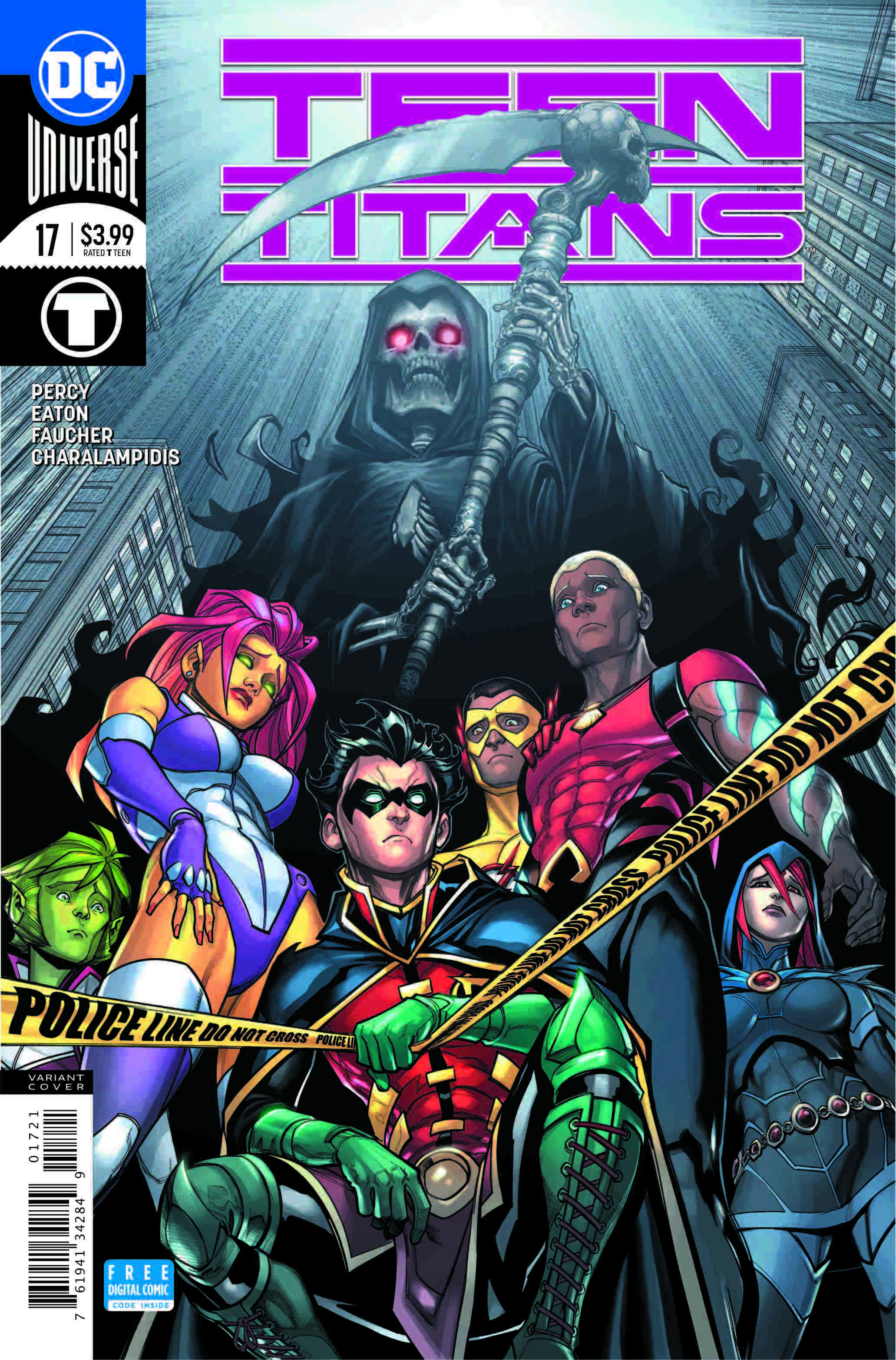The Following Begins In Teen Titans 17, Check Out A -5472