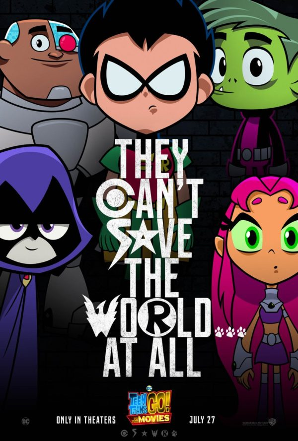 Teen Titans Go To The Movies Poster Parodies Justice League-5694
