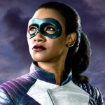 Get a first look at Candice Patton's Iris West in her superhero suit from The Flash