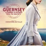 Lily James featured on poster for TheGuernsey Literary and Potato Peel Pie Society