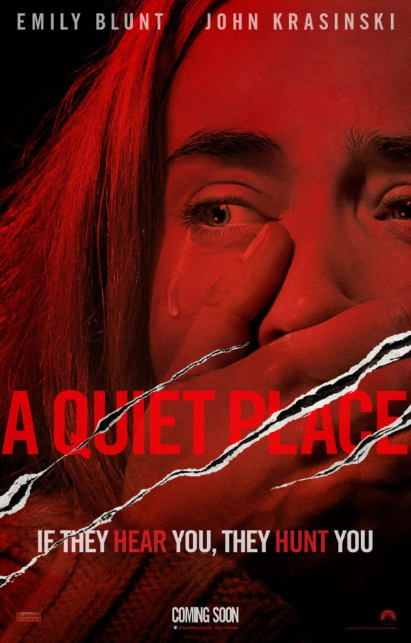 Image result for a quiet place movie poster