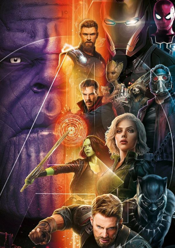 marvel's avengers infinity war gets a new promo poster