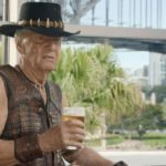 Paul Hogan cameos in the full Super Bowl TV spot for Dundee: The Son of a Legend Returns Home