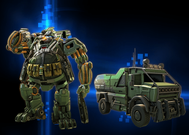 Autobot Hound joins Transformers: Forged to Fight