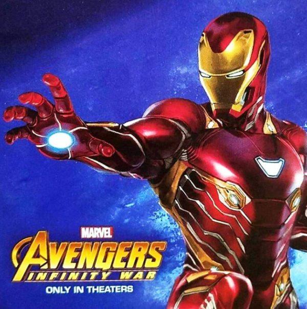 Iron Man Featured On New Avengers: Infinity War Promo Art