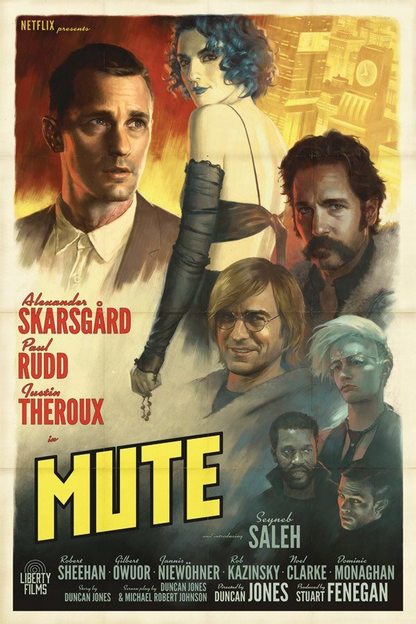 Image result for mute netflix poster