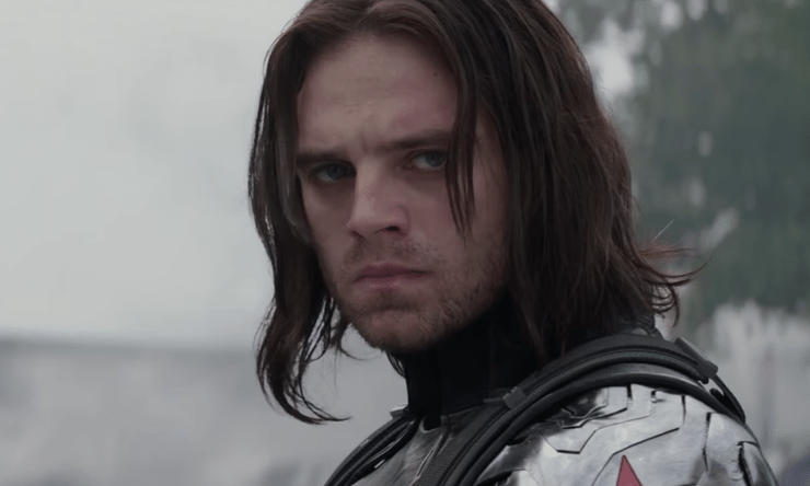 "The Russo Brothers say Bucky's ""damaged mind"" is why he didn't receive Cap's shield"