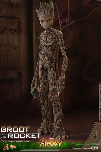 Avengers-Infinity-War-Rocket-and-Groot-Hot-Toys-collectible-set-3