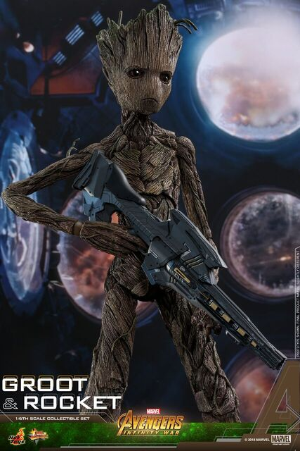 Avengers-Infinity-War-Rocket-and-Groot-Hot-Toys-collectible-set-4
