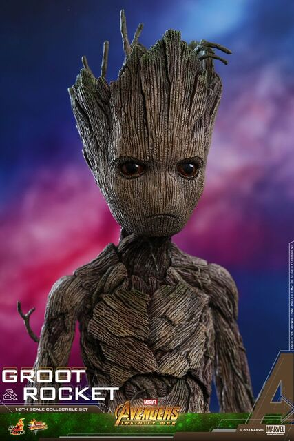 Avengers-Infinity-War-Rocket-and-Groot-Hot-Toys-collectible-set-5
