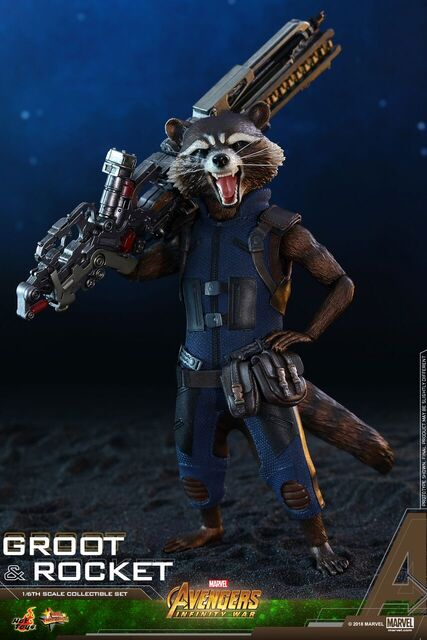 Avengers-Infinity-War-Rocket-and-Groot-Hot-Toys-collectible-set-6