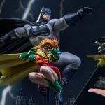 Iron Studios unveils its Batman and Robin deluxe statue from The Dark Knight Returns