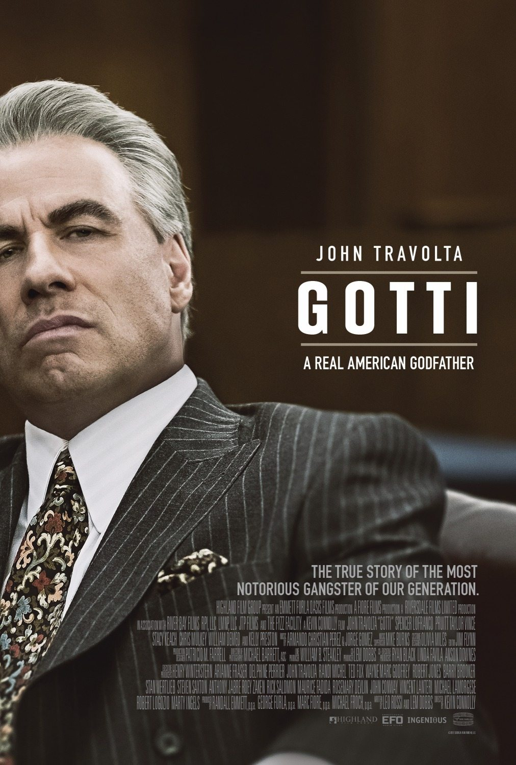 john travolta is a real american godfather on new poster