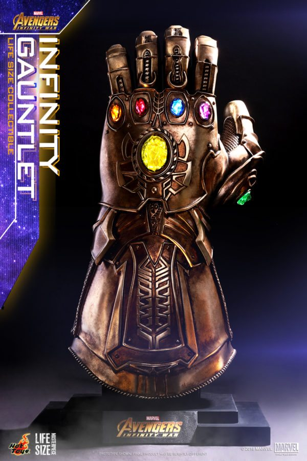 Hot Toys Unveils Its Life Size Infinity Gauntlet From