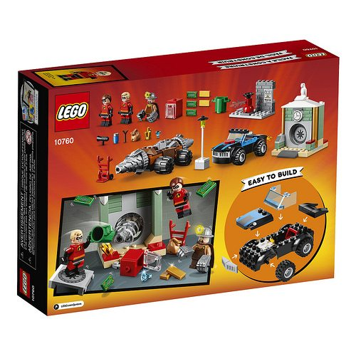 Lego Unveils The Complete Jurassic World Fallen Kingdom: Disney's Incredibles 2 LEGO Juniors Tie-in Sets Revealed
