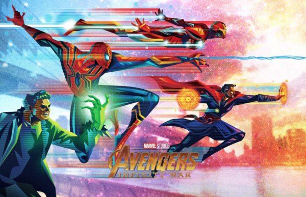Au77 Doctor Strange Hero Illustration Art: Avengers: Infinity War Gets A Batch Of Stylised
