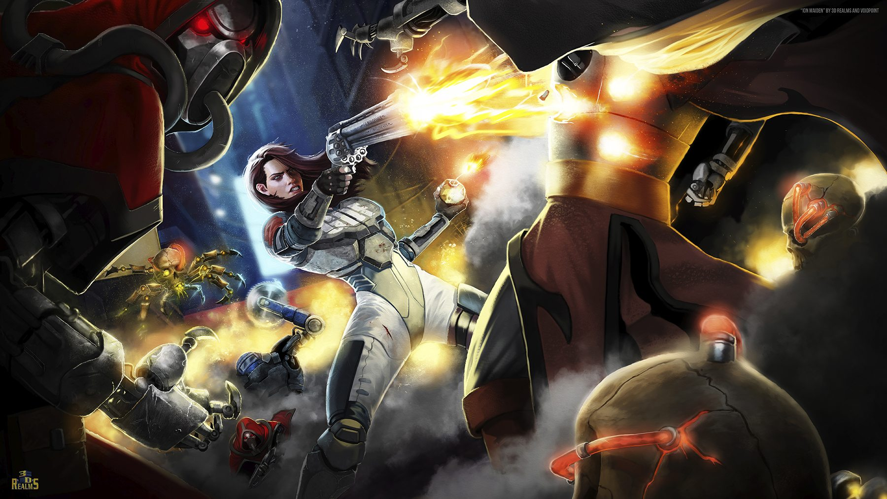 3D Realms returns with Old School FPS Ion Maiden