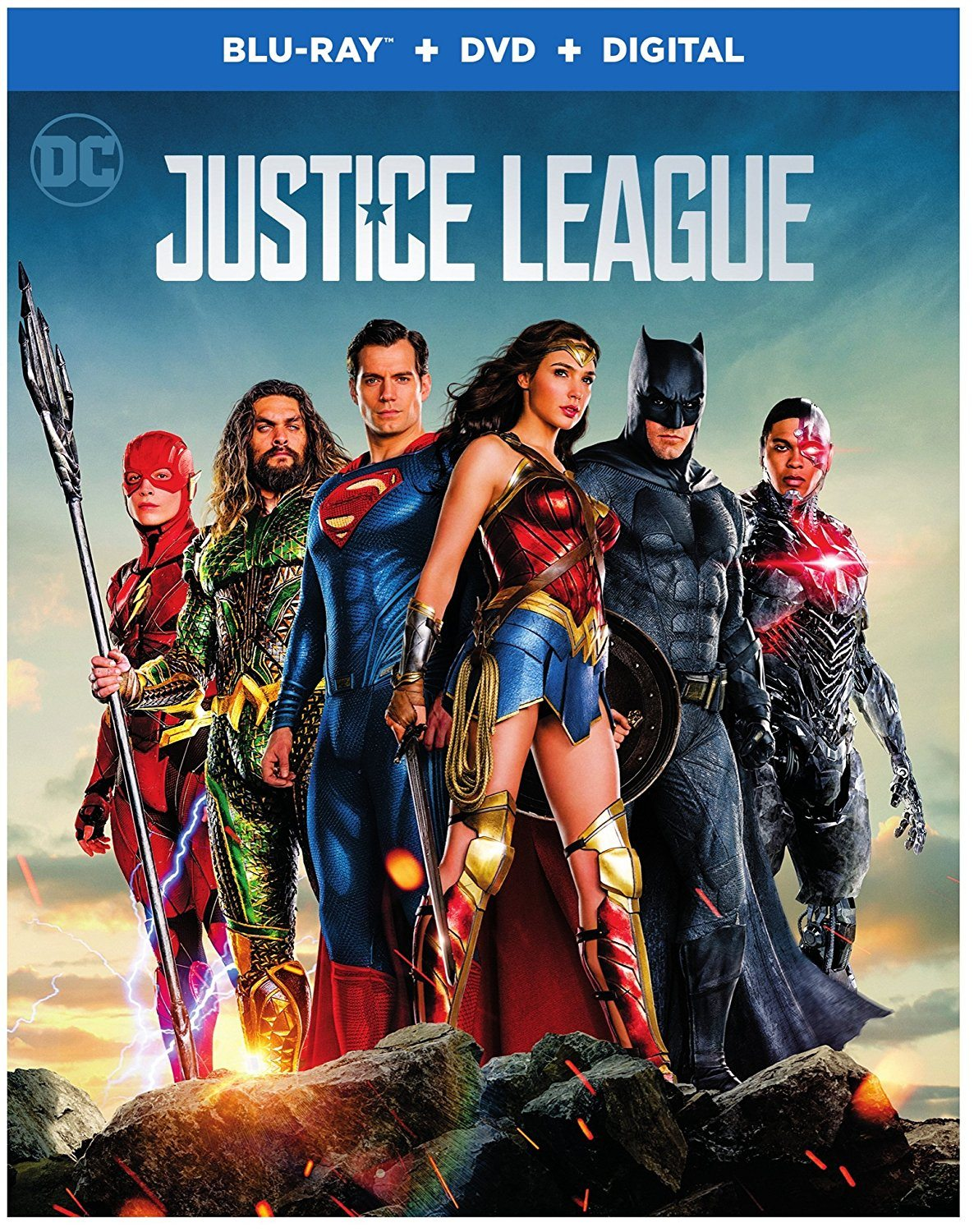 Blu-ray Review - Justice League (2017)