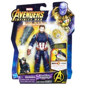 MARVEL-AVENGERS-INFINITY-WAR-6-INCH-Figure-Assortment-Captain-America-in-pkg-300x300