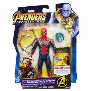 MARVEL-AVENGERS-INFINITY-WAR-6-INCH-Figure-Assortment-Iron-Spider-in-pkg-300x300
