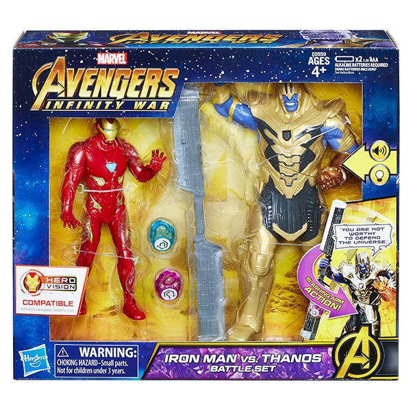 New Avengers Infinity War Action Figures Unveiled By Hasbro