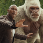 First clip and new posters for Rampage starring Dwayne Johnson